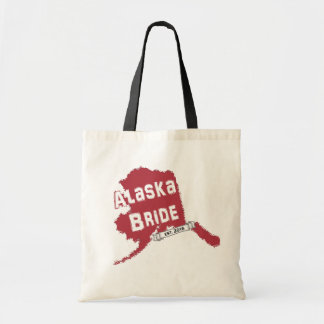 2016 AK Bride Map Tote in Red Bags