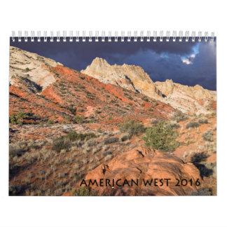 2016 American West Wall Calendar