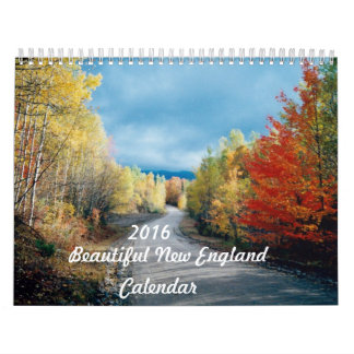 2016 Beautiful New England Calendar