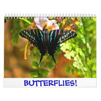 2016 Butterflies! Calendar