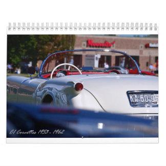 2016 C1 Corvette Calendar