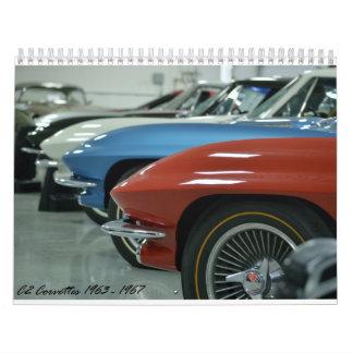 2016 C2 Corvette Calendar