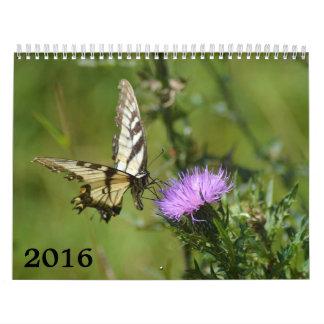2016 calendar, butterflies and blooms wall calendars