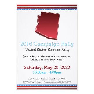 2016 Campaign Rally Arizona Invitation