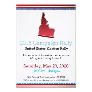 2016 Campaign Rally Idaho Invitation
