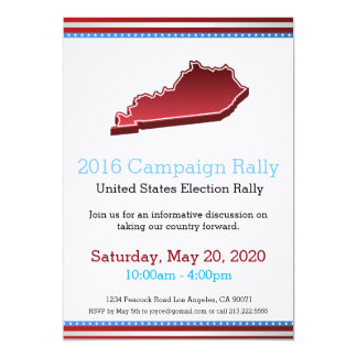 2016 Campaign Rally Kentucky Invitation