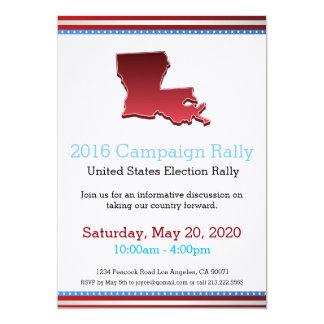 2016 Campaign Rally Louisiana Invitation
