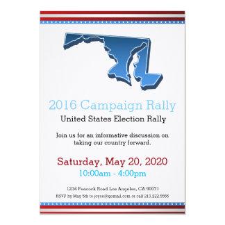 2016 Campaign Rally Maryland Invitation