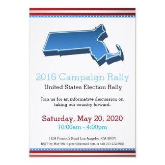2016 Campaign Rally Massachusetts Invitation
