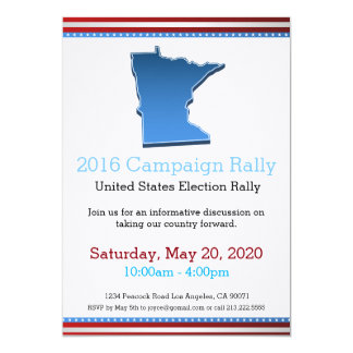 2016 Campaign Rally Minnesota Invitation