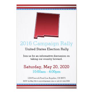 2016 Campaign Rally New Mexico Invitation