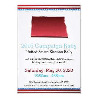 2016 Campaign Rally North Dakota Invitation