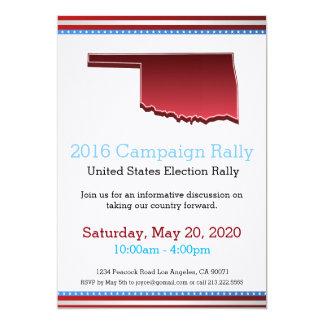 2016 Campaign Rally Oklahoma Invitation