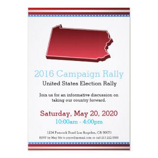 2016 Campaign Rally Pennsylvania Invitation
