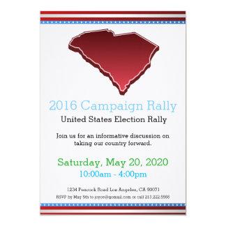 2016 Campaign Rally South Carolina Invitation