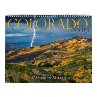2016 Colorado Scenic Calendar