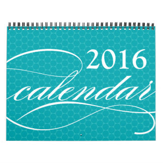 2016 Customizable Photo Calendar