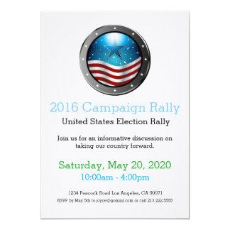 2016 Election Campaign Rally Invitation