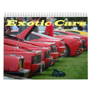 2016 Exotic car calendar