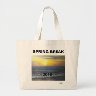 2016 FLORIDA OCEAN WAVES JUMBO TOTE BAG