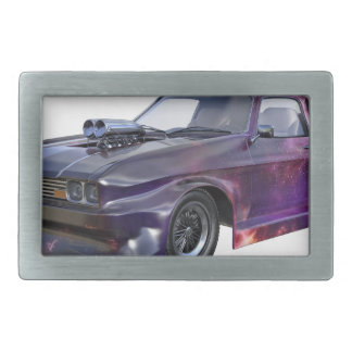 2016 Galaxy Purple Muscle Car Belt Buckles
