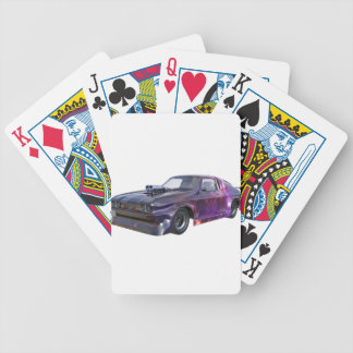 2016 Galaxy Purple Muscle Car Bicycle Playing Cards