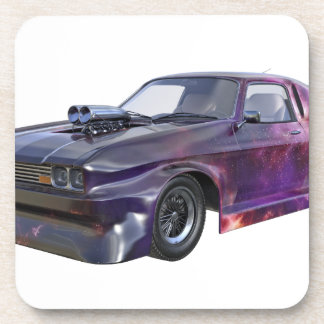 2016 Galaxy Purple Muscle Car Coasters