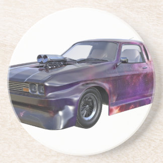 2016 Galaxy Purple Muscle Car Drink Coasters