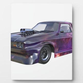 2016 Galaxy Purple Muscle Car Plaque