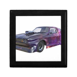 2016 Galaxy Purple Muscle Car Small Square Gift Box