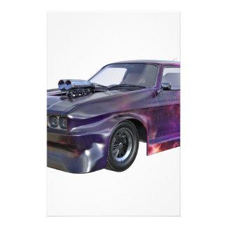 2016 Galaxy Purple Muscle Car Stationery