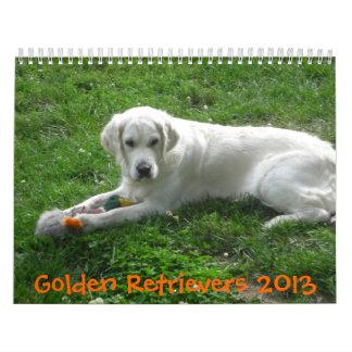 2016 Golden Retriever Calendar