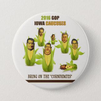 2016 GOP Iowa Caucuses 7.5 Cm Round Badge