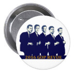 2016 GOP Presidential contenders Pinback Buttons