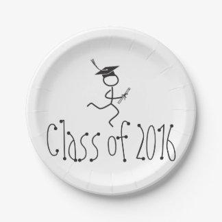 2016 Graduation Runner © Running Grad Party Supply Paper Plate