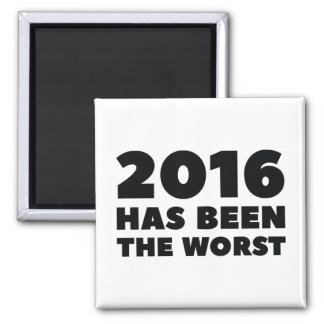 2016 Has Been The Worst Magnet