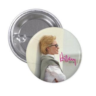 2016 Hillary Clinton for President (Sunglasses) 3 Cm Round Badge
