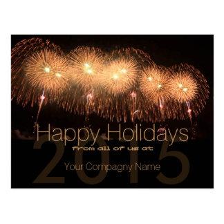 2016 Holidays Customizable Corporate Cards 5 - Postcard