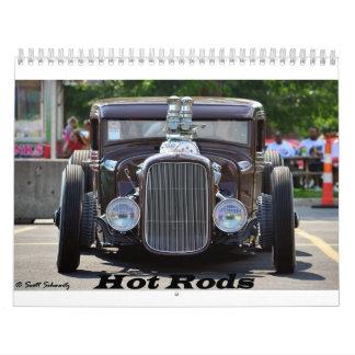 2016 Hot Rods & Street Rods Calendar