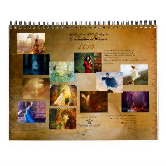 2016 Ladies in Art Calendar