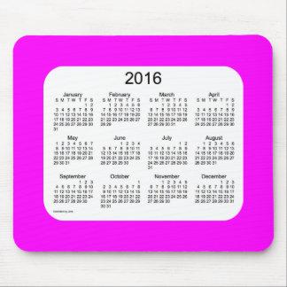 2016 Magenta Calendar by Janz Mousepad
