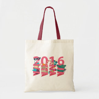 2016 New Year Budget Tote Bag