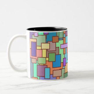 2016 Pattern Two-Tone Coffee Mug