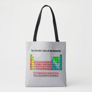 2016 Periodic Table of the Elements Tote Bag