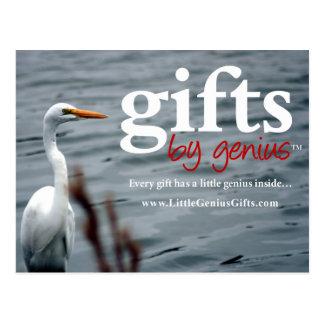 2016 Pocket Calendar Lake Shore White Egret Postcard