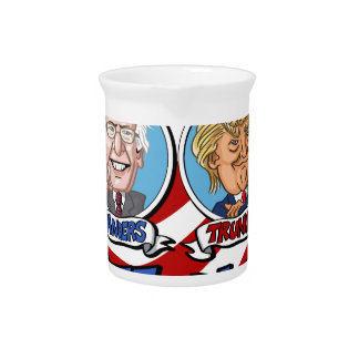 2016 Presidential Election Beverage Pitchers