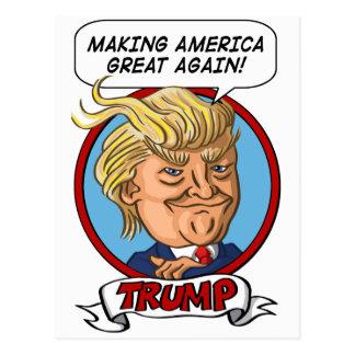 2016 Presidential Election Postcard