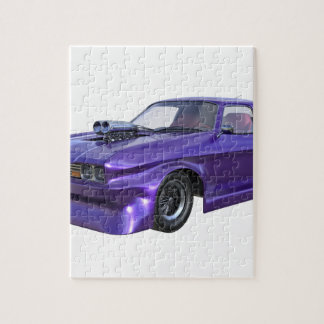 2016 Purple Muscle Car Jigsaw Puzzle