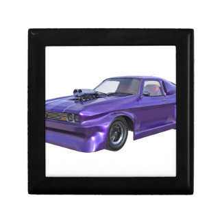 2016 Purple Muscle Car Small Square Gift Box