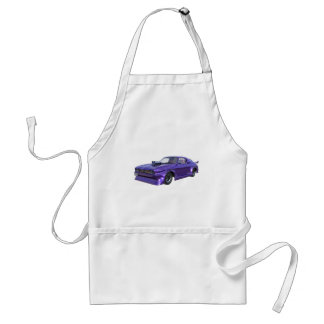 2016 Purple Muscle Car Standard Apron